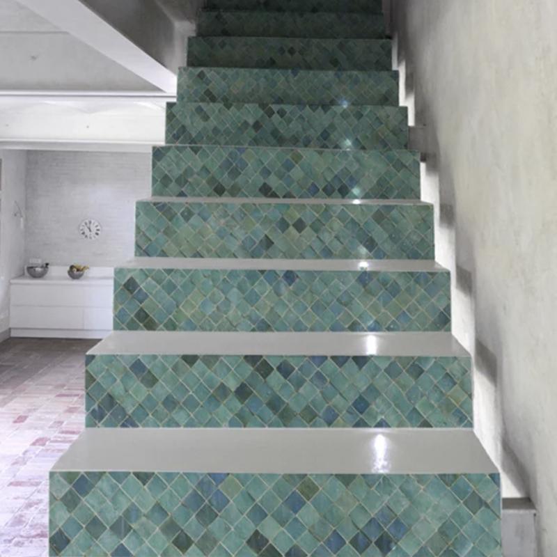 Stairs sticker Azul