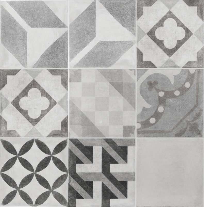 1463 - CEMENT TILE GREY