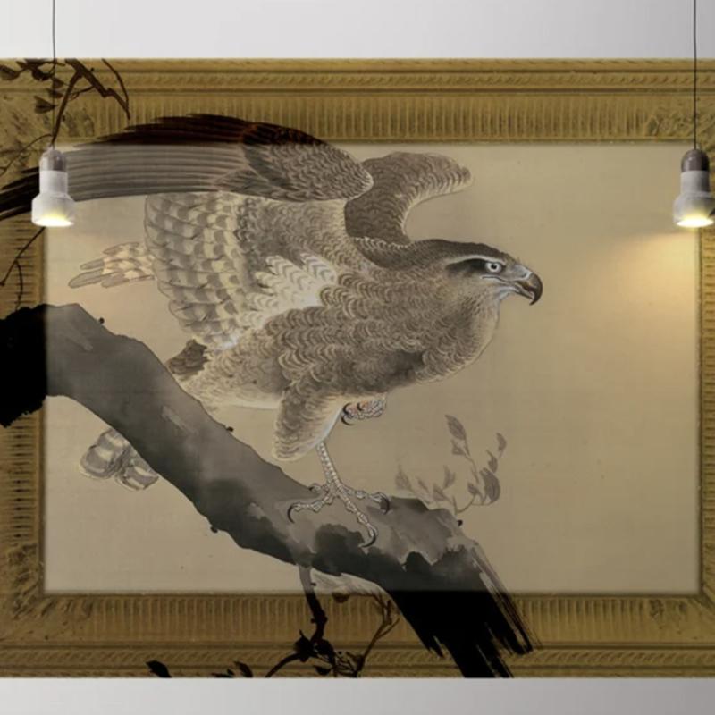 Framed Wallpaper EAGLE (2 colors)