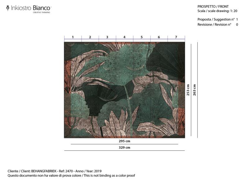 ELEMENTA Goldenwall 295 x 253 cm