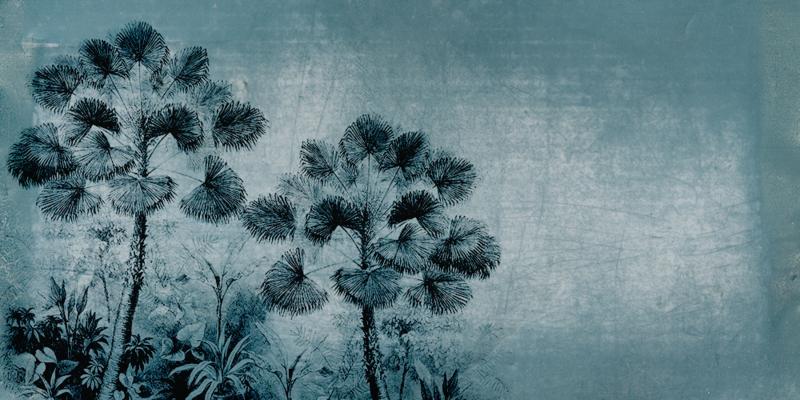 URBAN JUNGLE grey blue