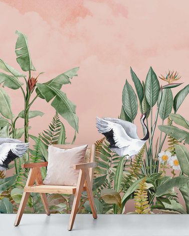 DANCING CRANE BIRDS (several sizes)