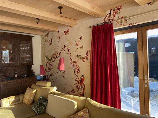 wallpaper design birds butterflies behangfabriek