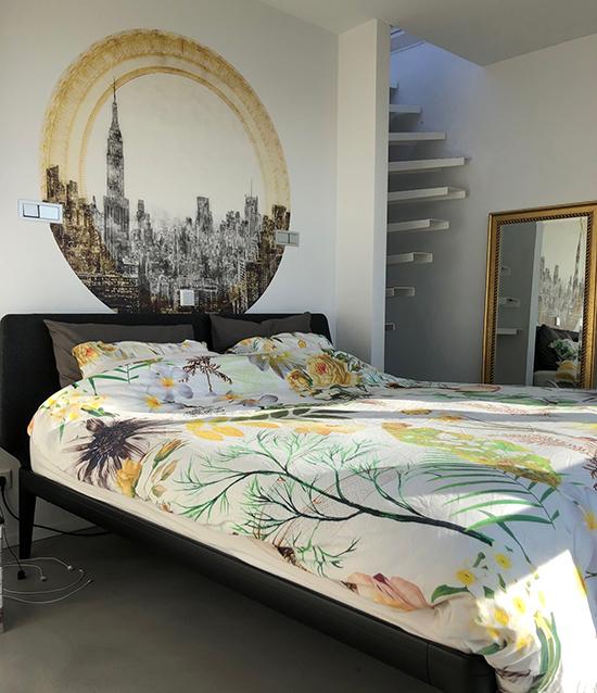 behangfabriek circle wallpaper city
