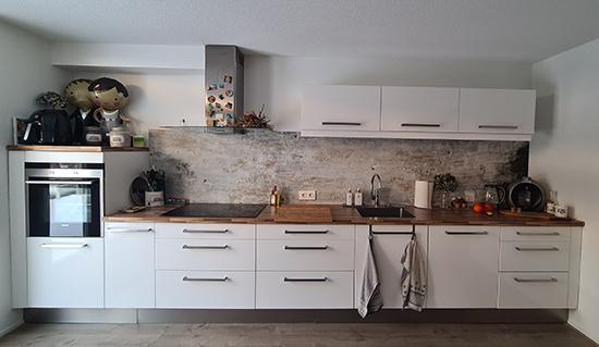 kuchen tapete kitchenwalls beton