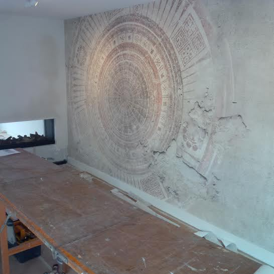 wall and deco klant mandala wdma1402 licht
