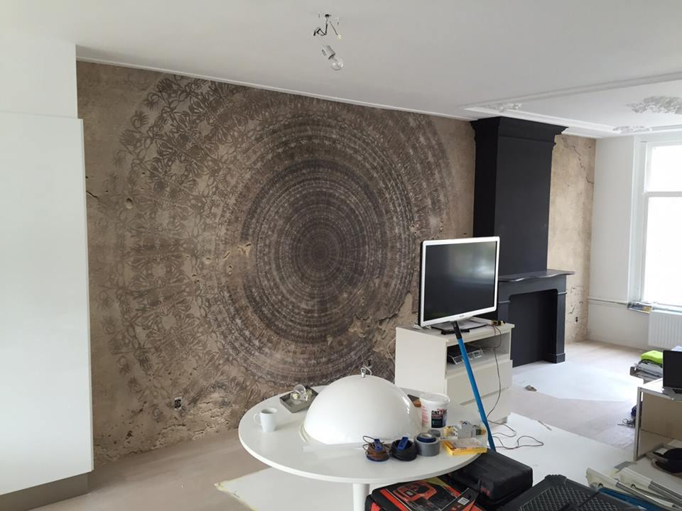 wall and deco mandala wdma1401 donker klant
