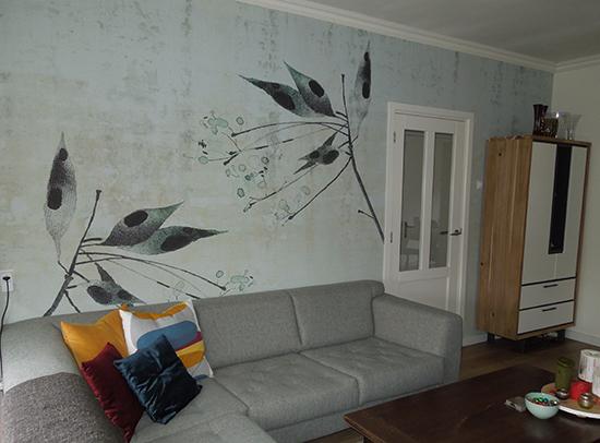 wallpaper design autumn breeze behangfabriek