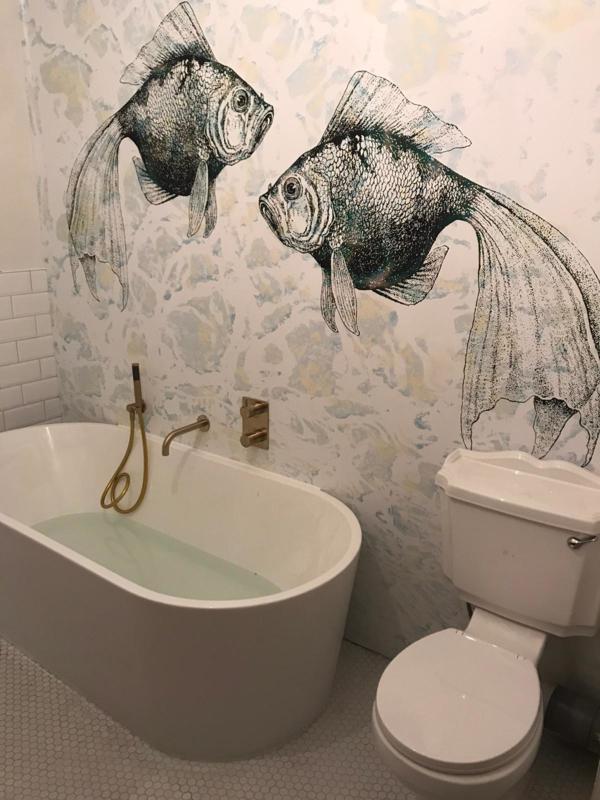 catch of the day fish wallpaper behangfabriek