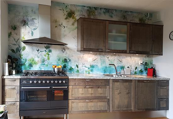 como blue by puck b wallpaper behangfabriek