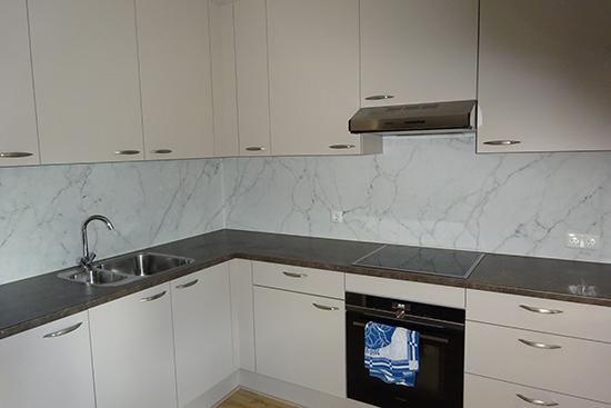 kitchenwalls marble backsplash wallpaper