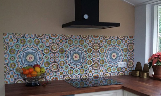 kitchenwalls backsplash wallpaper waterproof maroc