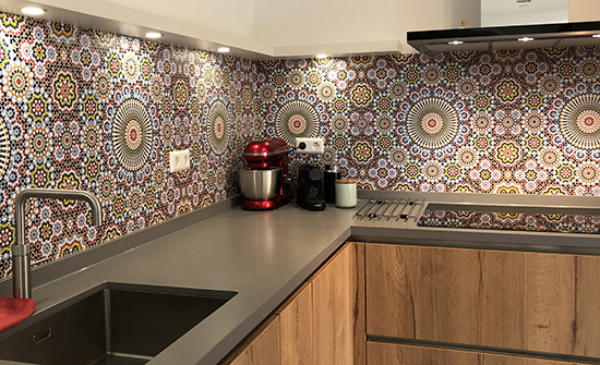 maroc kitchenwalls behangfabriek keukenbehang