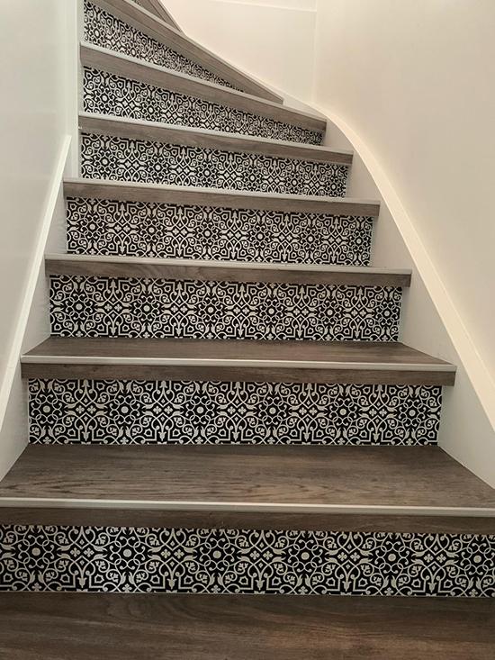 stairs sticker classic behangfabriek