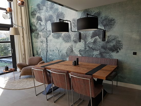 urban jungle wallcovering behangfabriek