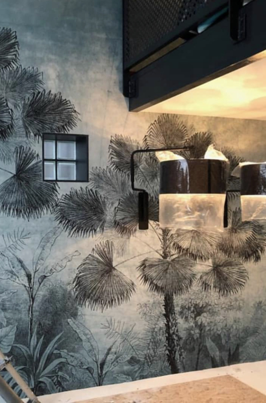 wallpaper design urban jungle Behangfabriek
