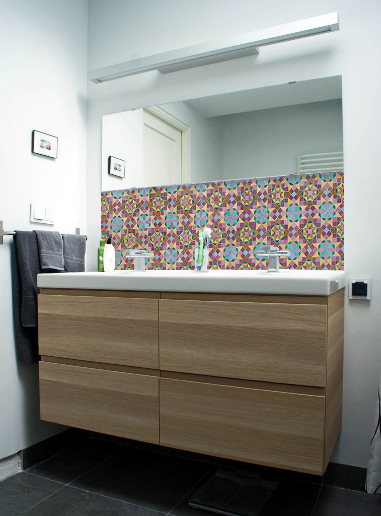 123kea wallpaper ikea bathroom ibiza mosaic  tiles