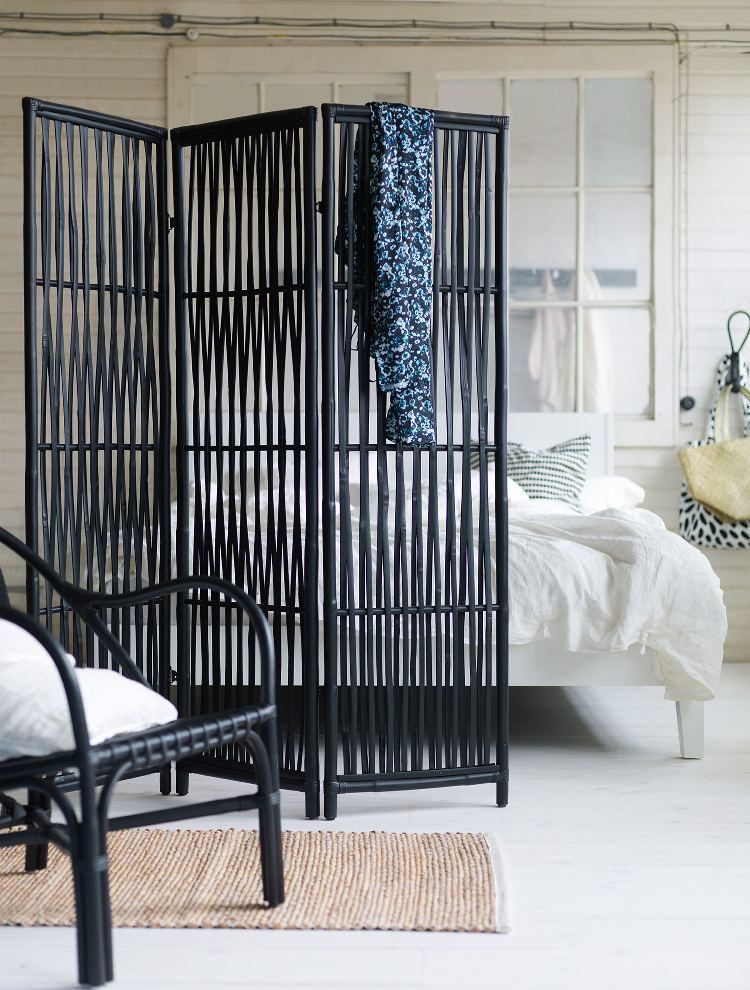 niddrig ikea screen black boho