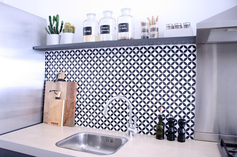 kitchenwalls backsplash circle