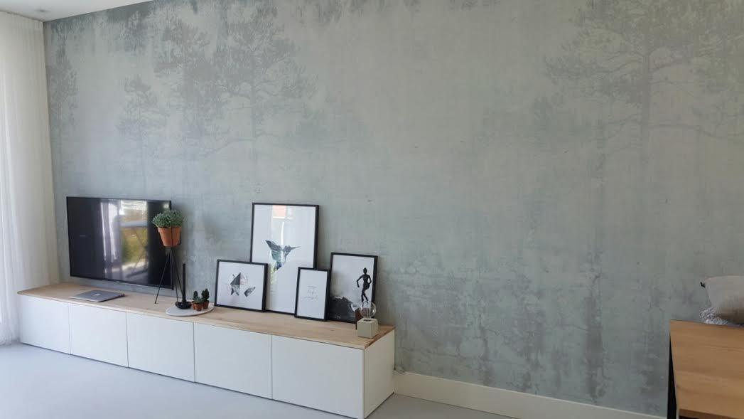behangfabriek designbehang faded forest