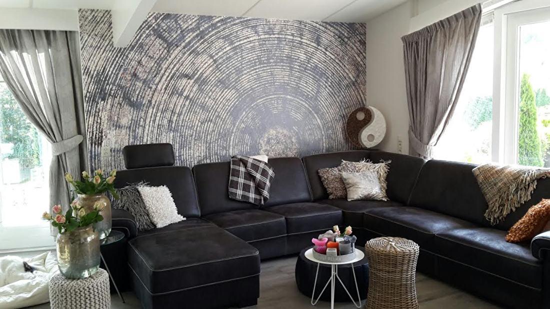 behangfabriek wallcovering tapete innercircle blue