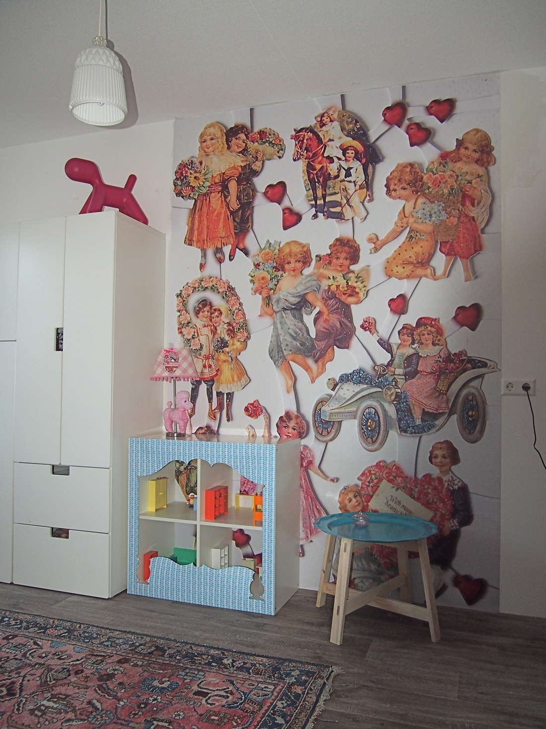 behangfabriek poezieplaatjes behang kinderkamer