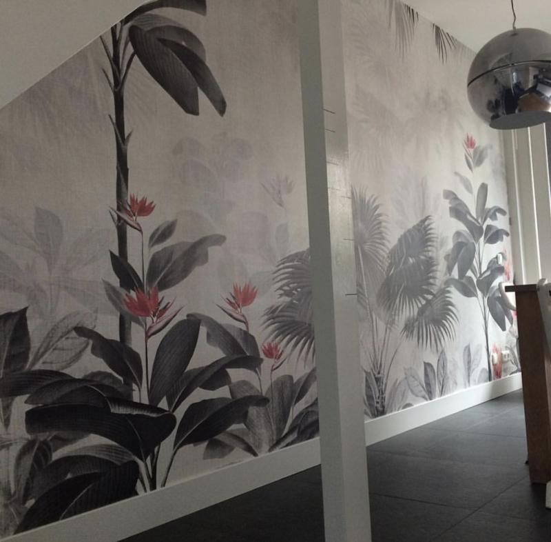 botanical bliss origin Nancy newton Behangfabriek