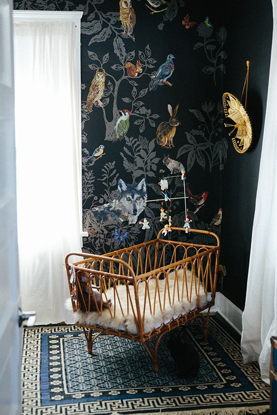 domestic mural foret noire nursery
