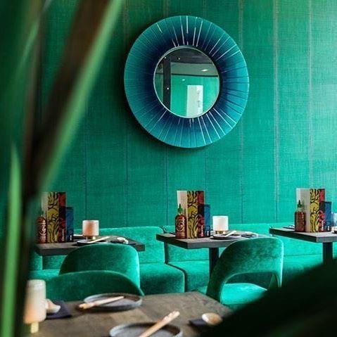elitis behang nomades sari groen