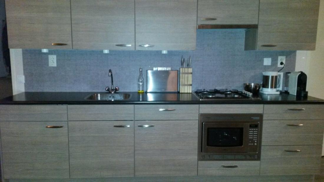 kitchenwalls keukenbehang tegel grijs