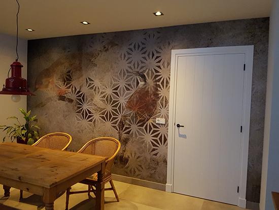 archeo birds wallpaper instabilelab behangfabriek