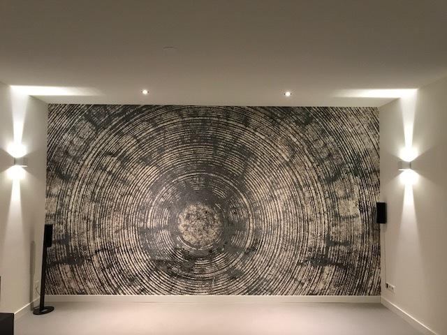 designbehang op maat inner circle behangfabriek