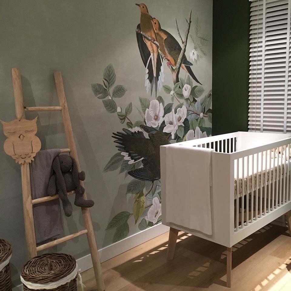 behangfabriek behang op maat babykamer