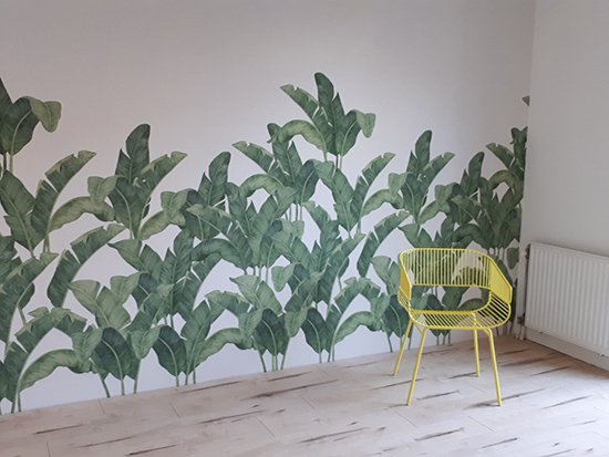 Tres Tintas Bananella wallpaper Behangfabriek