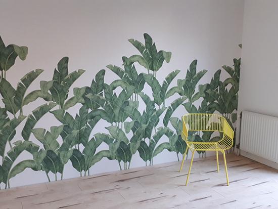 Tres Tintas Bananella wallpaper Behangfabriek