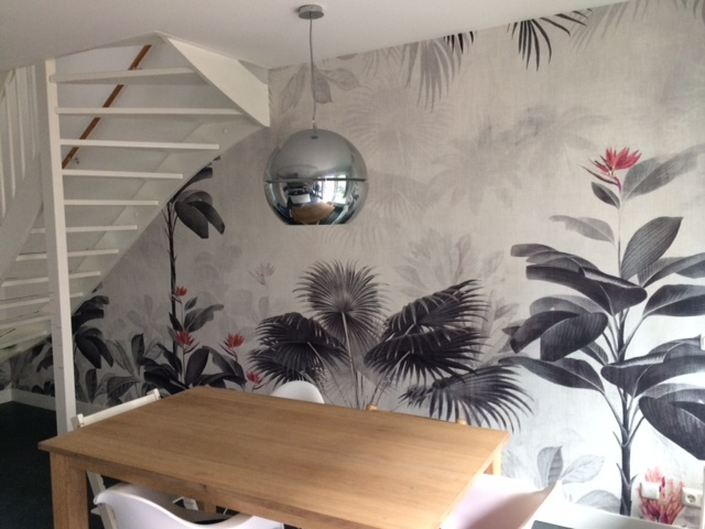 origin wallpaper botanical bliss happy customer behangfabriek