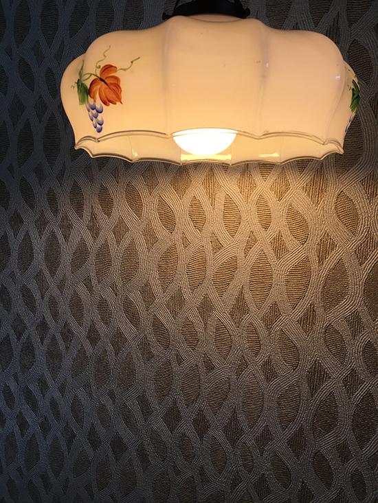 High end wallpaper perles topaze elitis