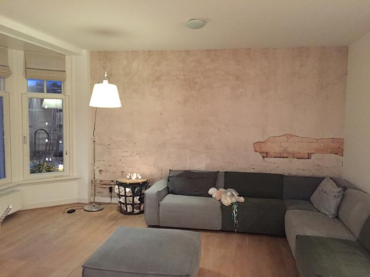 rebelwalls frontage wallpaper customer