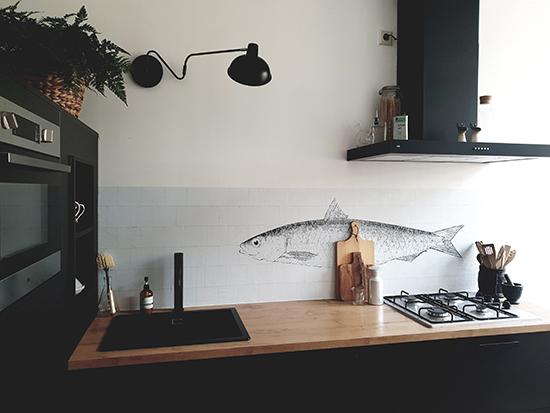 kitchenwalls wasserfest tapete kuchen