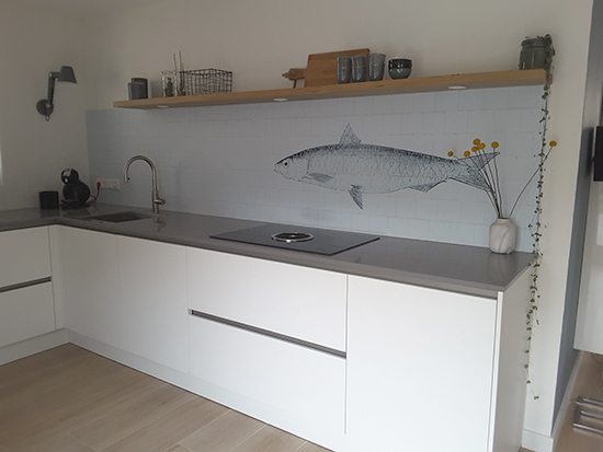 kitchenwalls papier peint cuisine fish