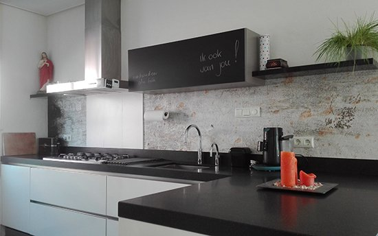 happy customer kitchenwalls backsplash wallpaper concrete