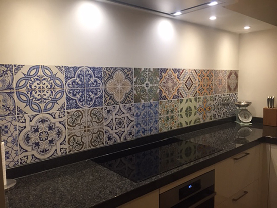 kitchenwalls kuchen tapete portugal tiles