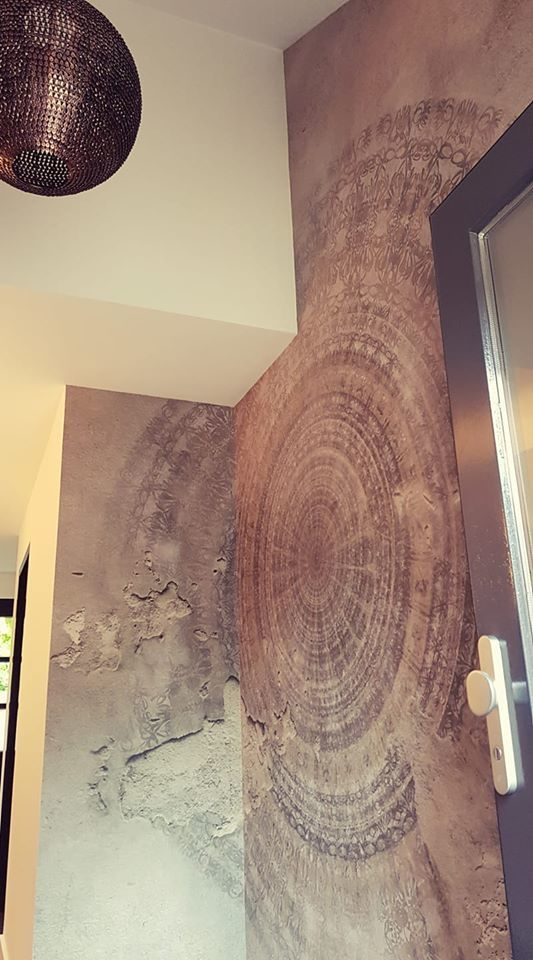 happy customer wallpaper mandala wall and deco