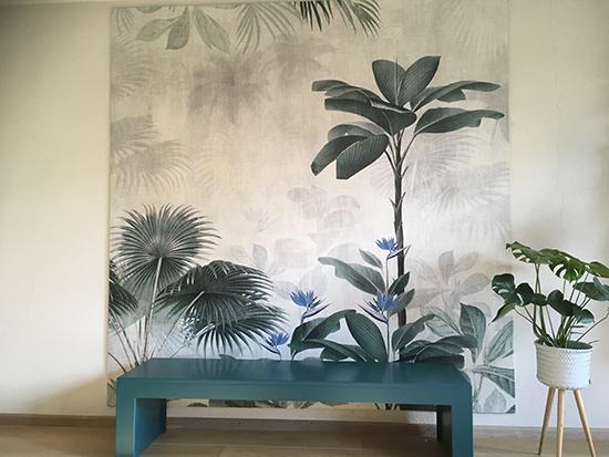 botanical bliss wallpaper origin