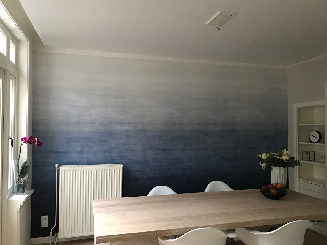 happy customer behangfabriek origin ombre wallpaper