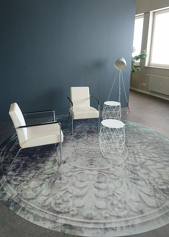 vinylkarpet vinyl rug ornament slowclub behangfabriek