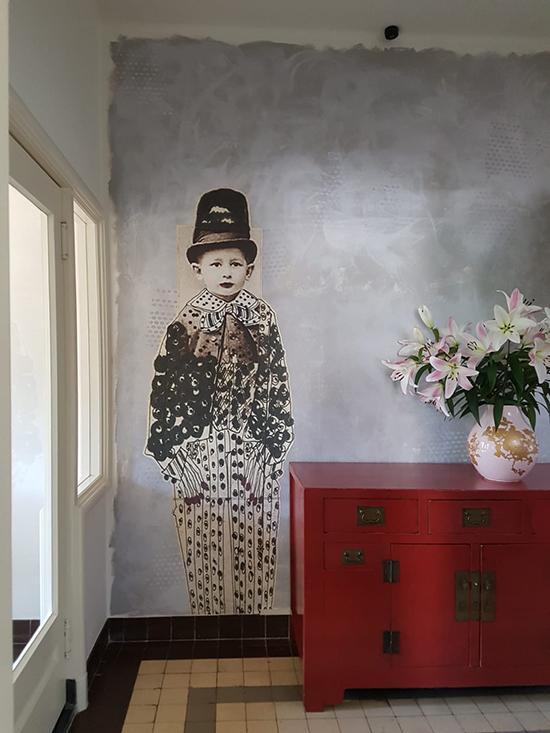 wall and deco la famiglia pois behangfabriek