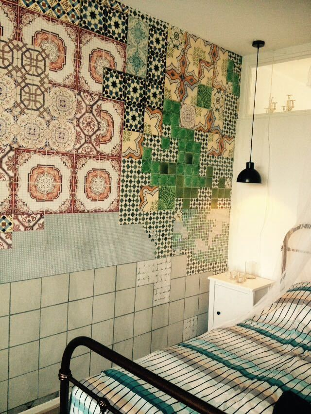 wall & deco wallcovering tell me tiles