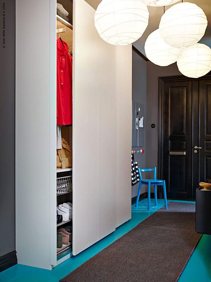 ikea pax wardrobe hallway