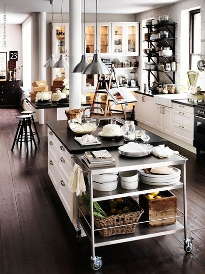 classic white ikea kitchen
